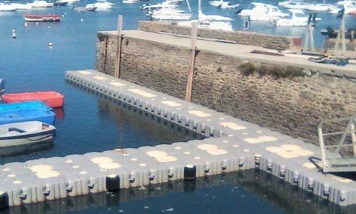 EVT installation Marinefloor Sarzeau Bretagne