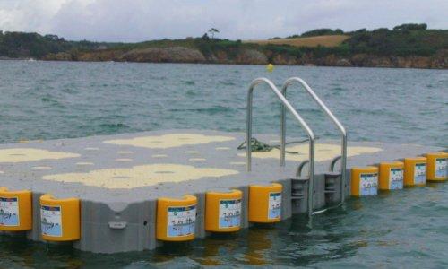 EVT installation Marinefloor Moelan Bretagne